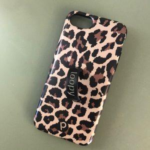 iPhone 8 loopy case leopard print/animal print